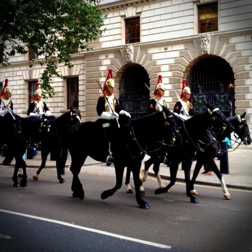 Royal horse guards